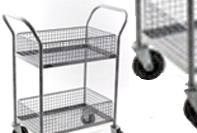 notes transfer trolley
