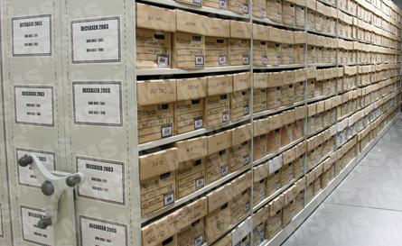Hospital Record Storage